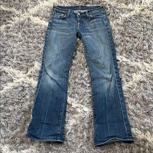7 for al mankind jeans.